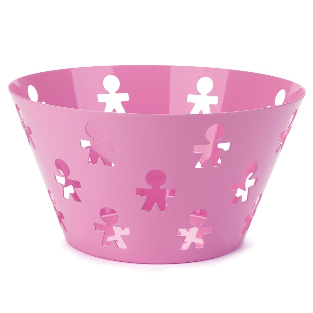 Alessi girotondo poplike large fruit bowl rose - Alessi fruit bowl ...
