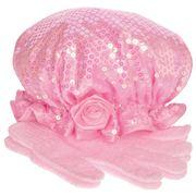 Ogilvies Designs - Fleur de Rose Shower Set Baby Pink