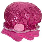 Ogilvies Designs - Fleur de Rose Shower Set Cerise Pink