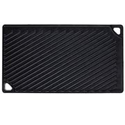 Lodge - Cast Iron Reversible Griddle/Grill