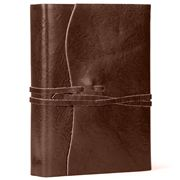 Cavallini - Roma Lussa Leather Journal Chocolate 13x17cm