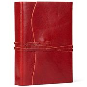Cavallini - Roma Lussa Leather Journal Red 13x17cm