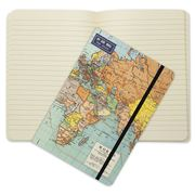 Cavallini - World Map Notebook