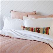 Linen & Moore - Ikat Sheet Set White King Size