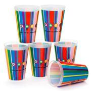 Dylan's Candy Bar - Tumbler Set 6pce Stripes
