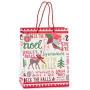 Meri-Meri - Christmas Slogans Medium Gift Bag