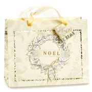 Meri-Meri - Noel Wreath Glitter Medium Gift Bag