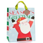Meri-Meri - Season's Greetings Santa Gift Bag Large
