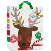 Meri-Meri - Reindeer & Baubles Large Gift Bag