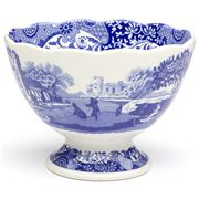 Spode - Blue Italian Footed Dish