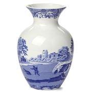 Spode - Blue Italian Vase 15cm