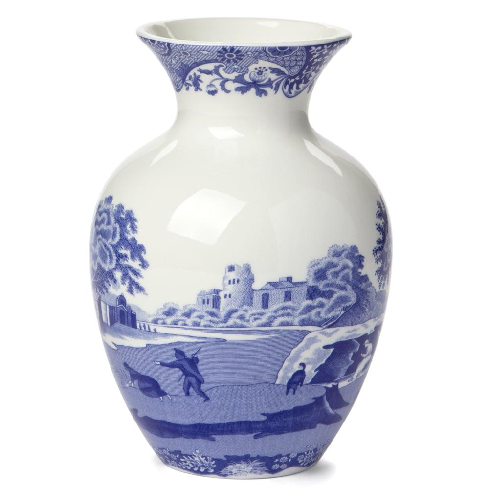 Spode Blue Italian Vase 15cm Peter S Of Kensington