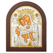 Clarte Icon - Axion Esti Holy Virgin Mary Wooden Frame 20x25
