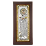 Clarte Icon - HV Mary Gerontissa Jewelled in Gold 10x22cm