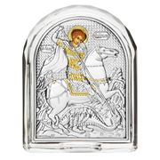 Clarte Icon - St George Crystal Frame