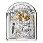 Clarte Icon - Holy Virgin Mary Quick Listening Crystal Frame
