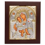 Clarte Icon - Axion Esti HV Mary Jewelled Gold 10.5x12.5cm