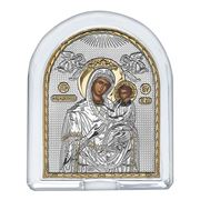 Clarte Icon - HV Mary Quick Listening in Crystal 10x12cm