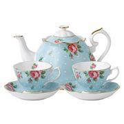 Royal Albert - Polka Blue Tea For Two Set