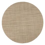 Chilewich - Basketweave Round Placemat Latte