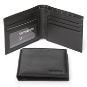 Samsonite - Business Leather Slimline Wallet Black