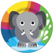French Bull - Jungle Series Plate Elephant
