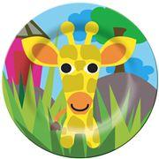 French Bull - Jungle Series Plate Giraffe