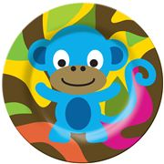 French Bull - Jungle Series Plate Monkey