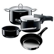 Silit - Accento Black Cookware Set 4pce