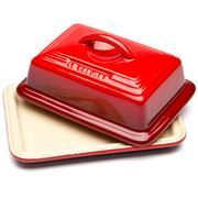 Le Creuset - Cerise Red Stoneware Butter Dish