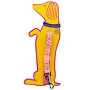 Jonathan Adler - Large Dog Lead Yellow Links