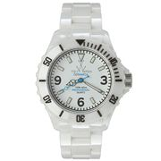 ToyWatch - Ceramica White Watch