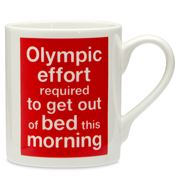 McLaggan Smith - Olympic Mug Get Out of Bed