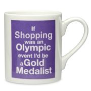 McLaggan Smith - Olympic Mug Shopping