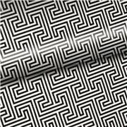 Vandoros - Geometric Topo Black & White Wrapping Paper