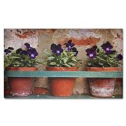 Doormat Designs - Flower Pots Doormat