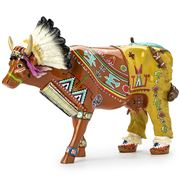 Art In The City - Palatala The Red Sunrise Cow