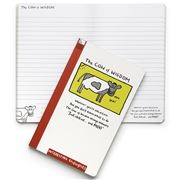 Edward Monkton - The Cow of Wisdom Large Notebook
