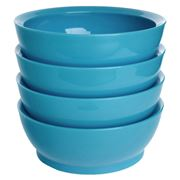 Calibowl - Light Blue Non-Spill Bowl 4pce Set 17cm