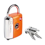Go Travel - Dual Safety Function TSA Padlock