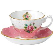 Royal Albert - Cheeky Pink Teacup & Saucer Set