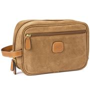 Bric's - Life Collection Camel Brown Travel Kit