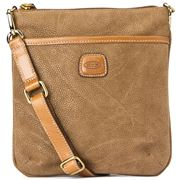Bric's - Life Collection Cross-Body Bag Camel Brown