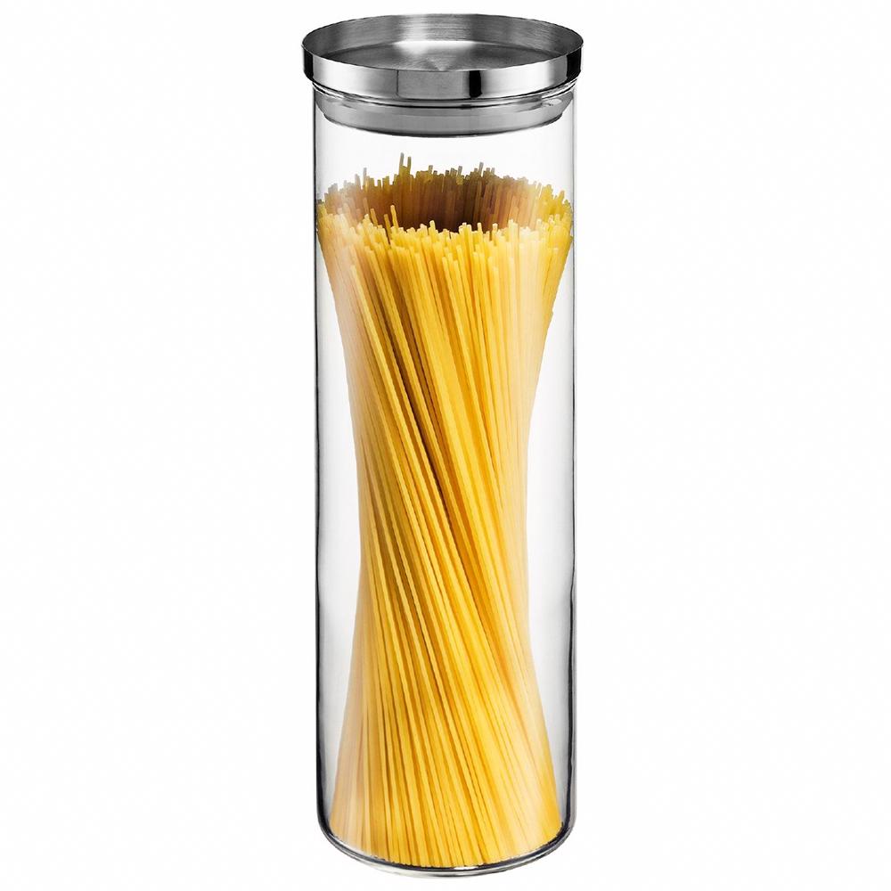 bodum yohki spaghetti storage jar with s s lid 1 9l. Black Bedroom Furniture Sets. Home Design Ideas