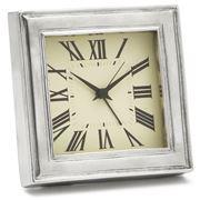 Match Pewter - Square Alarm Clock