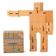 Cubebot - Small Natural Beechwood Cubebot