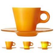 Leonardo - Ooh! Magico Colour Changing Espresso Cup Orange