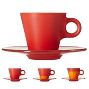 Leonardo - Ooh! Magico Colour Changing Espresso Cup Red