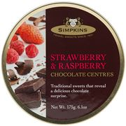 Simpkins - Strawberry & Raspberry Chocolate Centres 175g