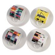 Eames - House of Cards Espresso Set 8pce